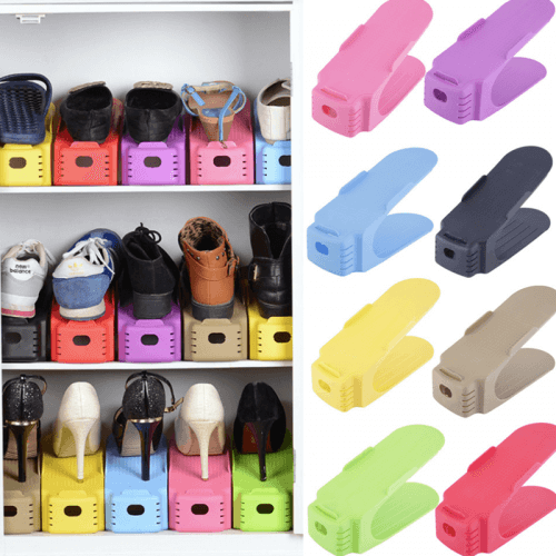 Double Shoe Storage Rack