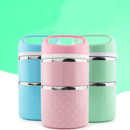 Portable Mini Stainless Steel Lunch Box