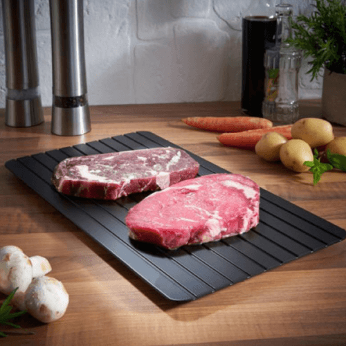 Magic Defrosting Meat Tray