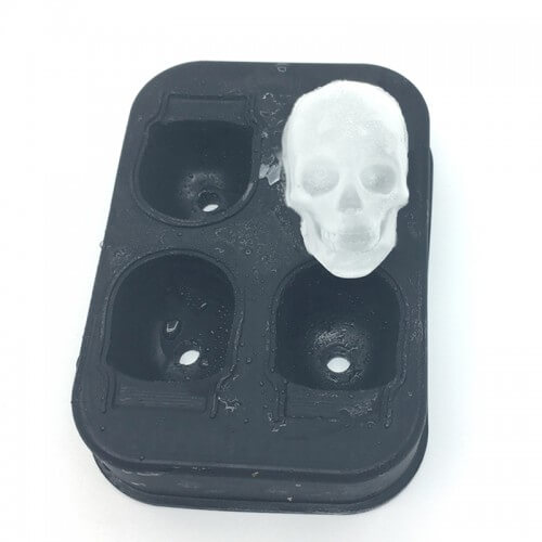 Skull Shaped Ice Cubed Maker